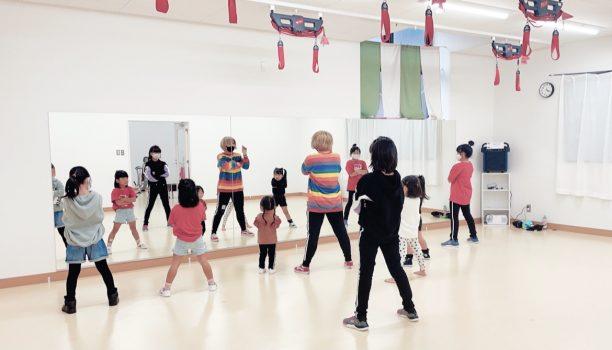 Yippeeキッズダンススクール体験会。