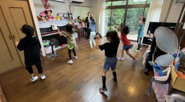 7月からのキッズダンススクール。